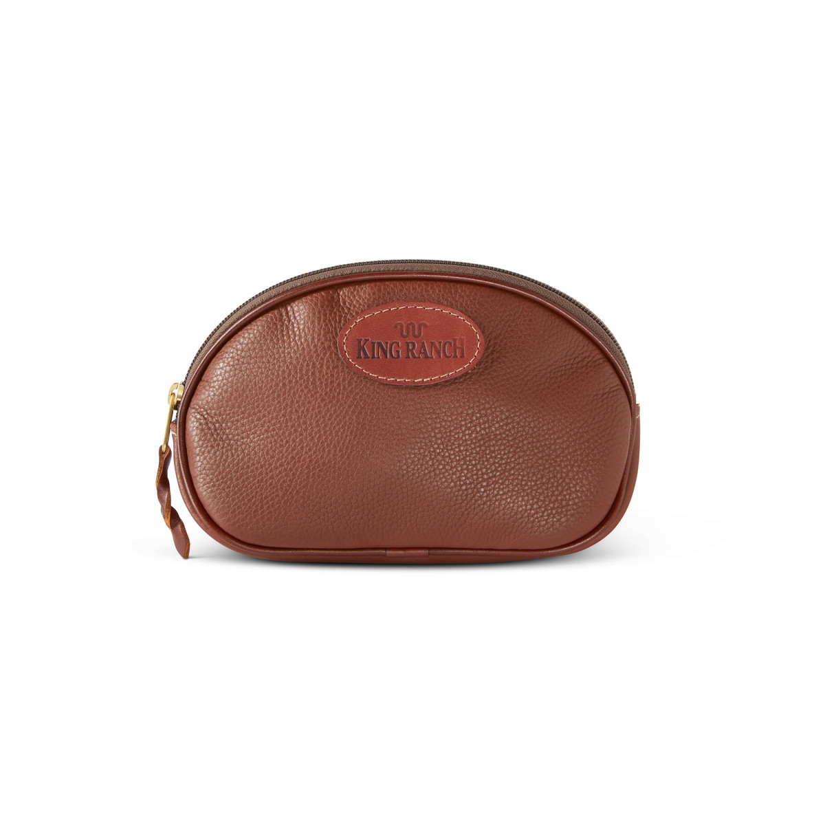 COSMETIC BAG - LEATHER